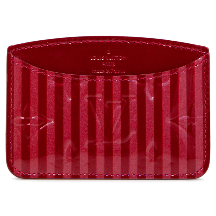 Louis Vuitton Pomme D'Amour Vernis Rayures Mirror Case