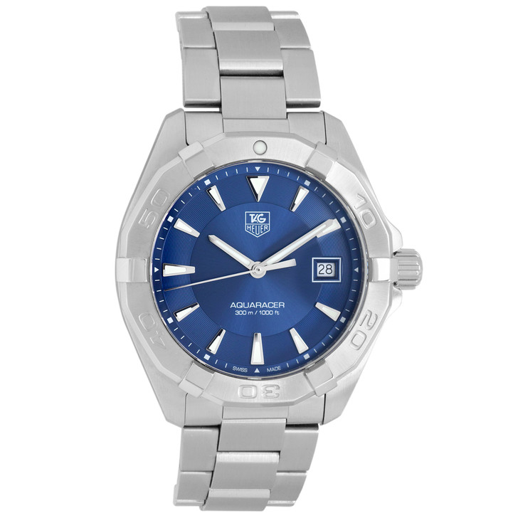 Tag Heuer Stainless Steel Aquaracer Quartz Watch WAY1112.BA0928