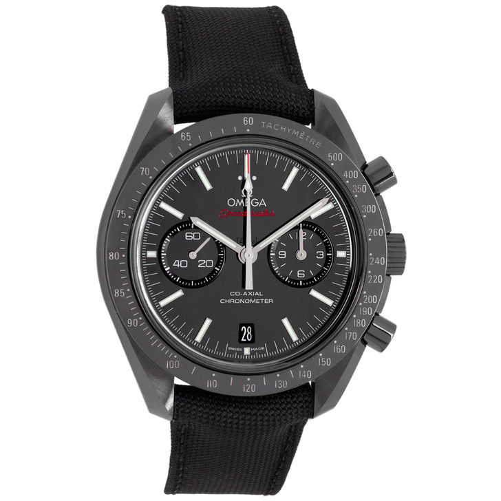Omega Black Ceramic Speedmaster Dark Side of the Moon Co-Axial  Chronograph 311.92.44.51.01.003