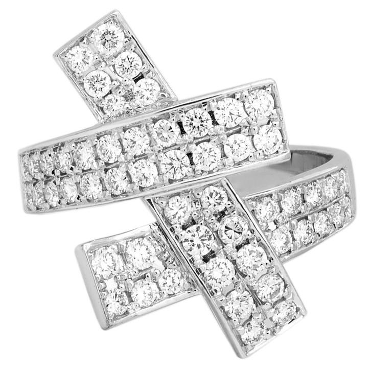 18K White Gold 1.22 Carat Diamond Ring