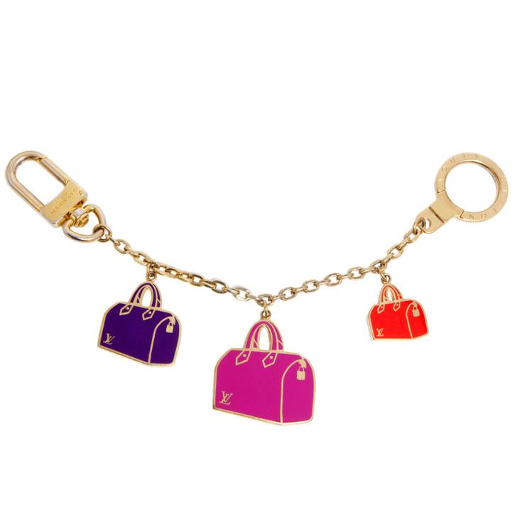 Louis Vuitton Enamel Iconic Speedy Bag Charm