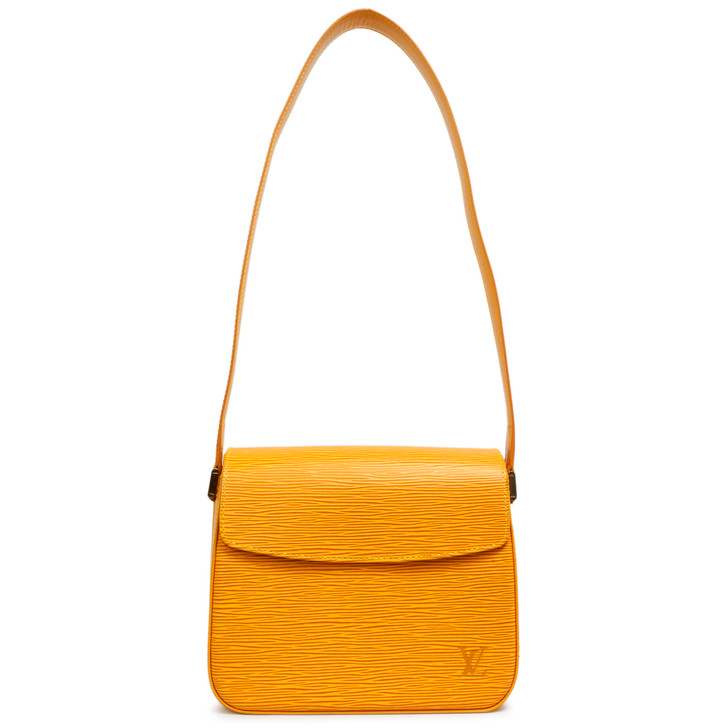 Louis Vuitton Tassil Yellow Epi Buci