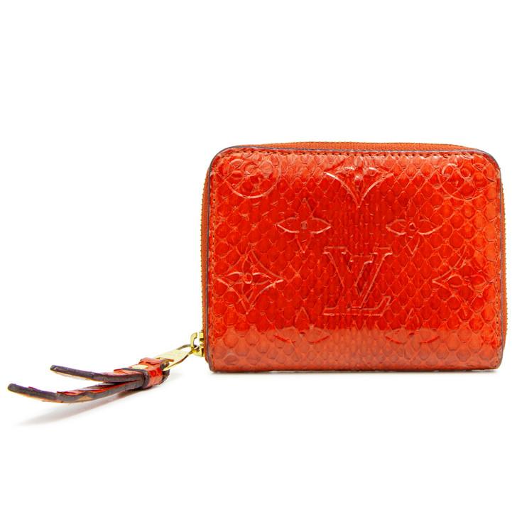 Louis Vuitton Orient Python Zippy Coin Wallet