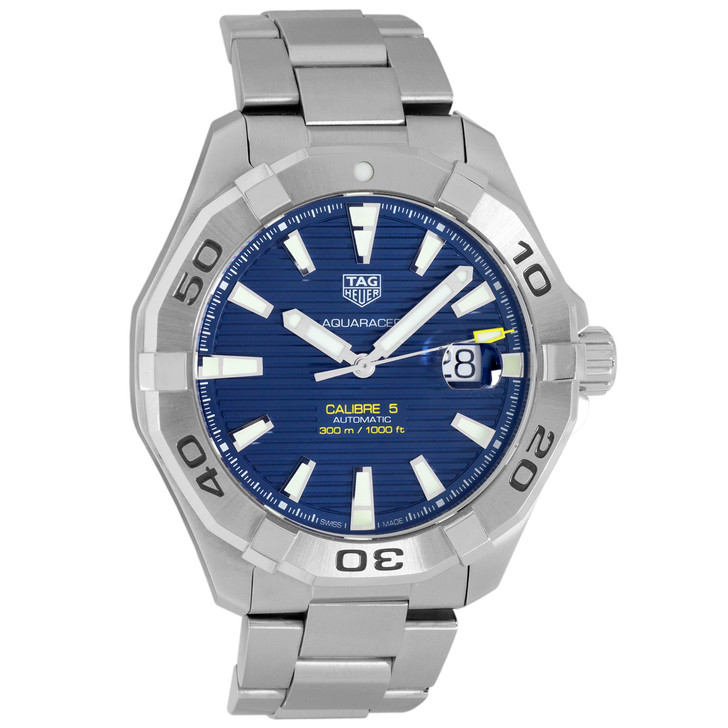 Tag Heuer Stainless Steel Aquaracer Automatic Watch WAY2012.BA0927