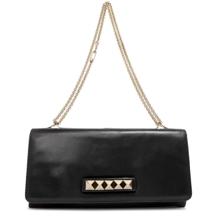 Valentino Black Nappa Va Va Voom Shoulder Bag