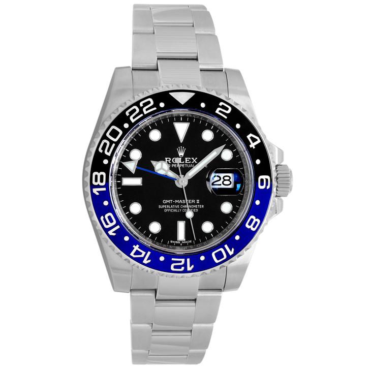 Rolex Stainless  Steel  GMT-Master II 116710BLNR