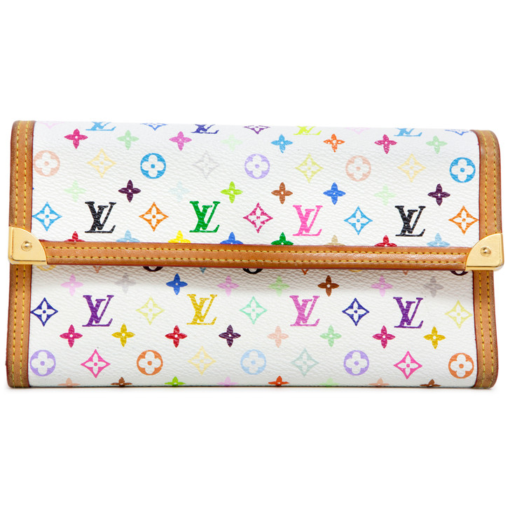 Louis Vuitton  Multicolor Porte Tresor International Wallet