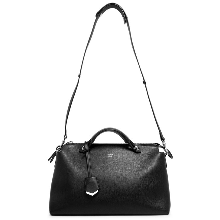 Fendi Black Calfskin Large By  The Way Bag