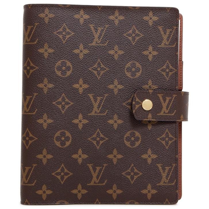 Louis Vuitton Monogram Large Ring Agenda Cover