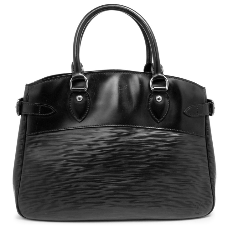 Louis Vuitton Black Epi Passy  PM