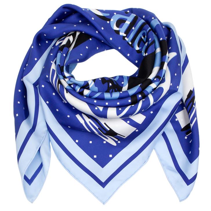 Hermes Silk Caleche Elastique Remix Scarf 90