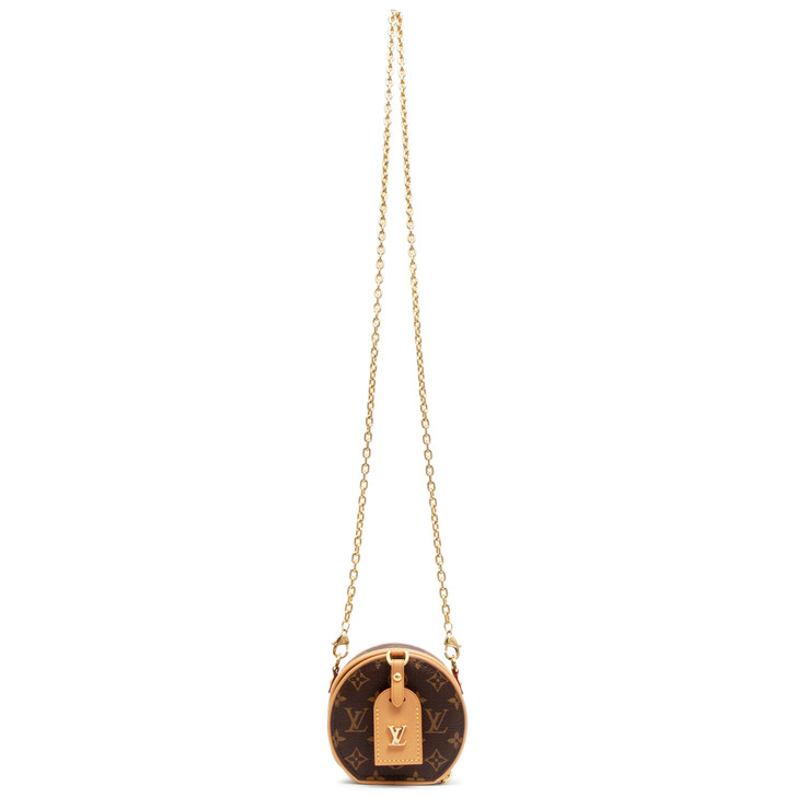 Louis Vuitton Monogram Boite Chapeau Necklace