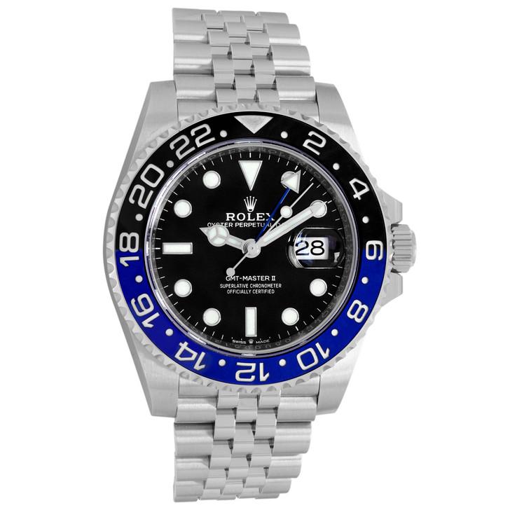 Rolex Stainless Steel GMT Master II 126710BLNR