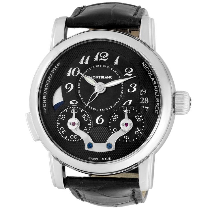 Montblanc Stainless Steel Nicolas Rieussec Chronograph 106488
