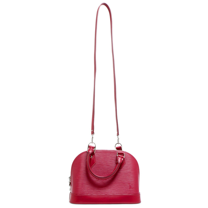 Louis Vuitton Fuchsia Epi Alma BB