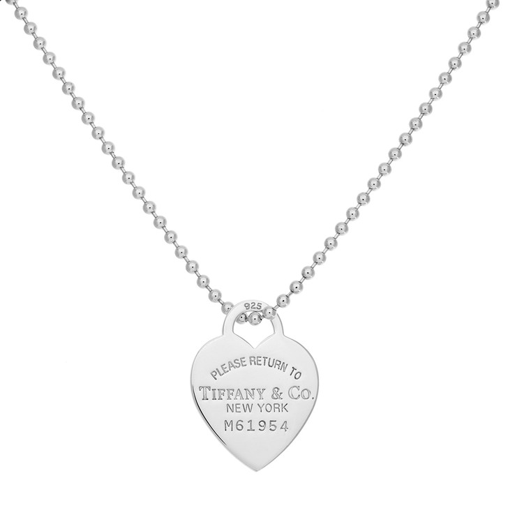 Tiffany & Co. Sterling Silver Heart Tag Pendant