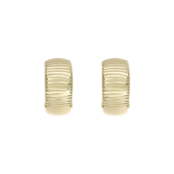 14K Yellow Gold Mini Hoop Earrings