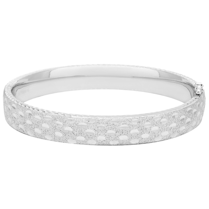 950 Platinum Bangle Bracelet