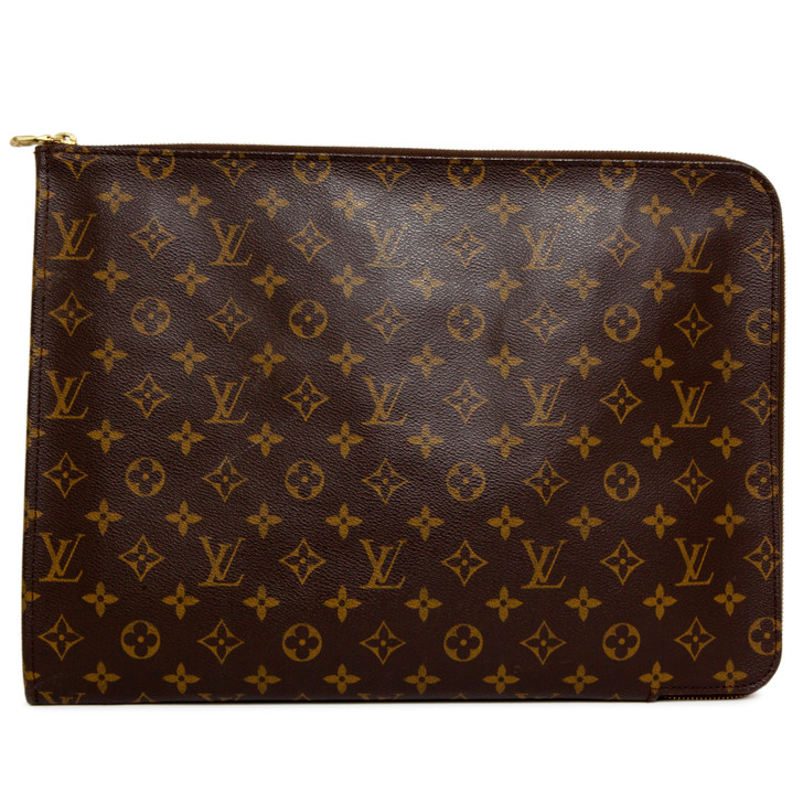 Louis Vuitton Monogram Poche Documents Portfolio Case 39