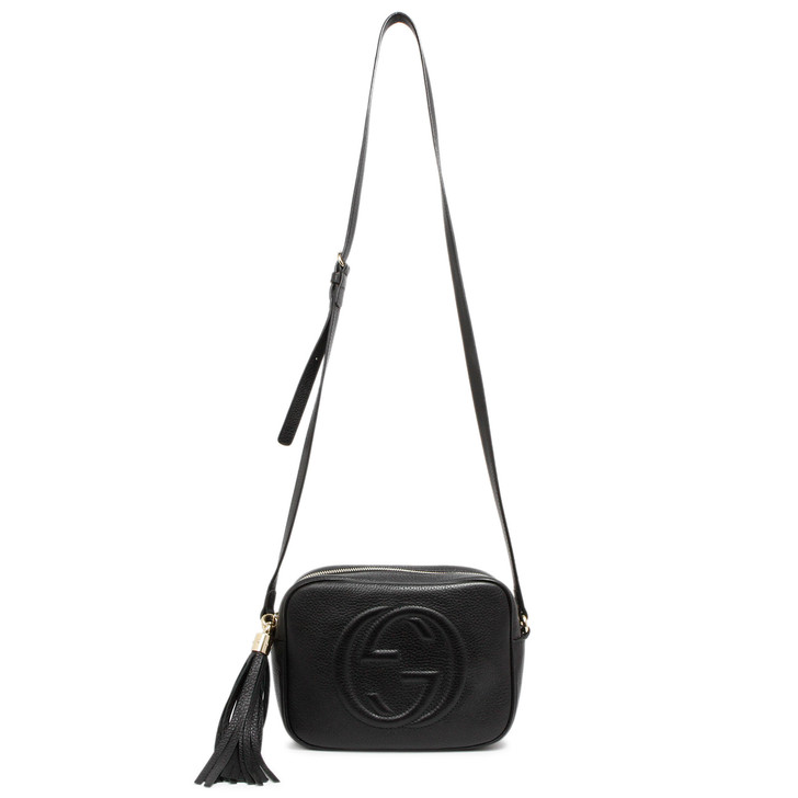 Gucci Black Soho Disco  Bag
