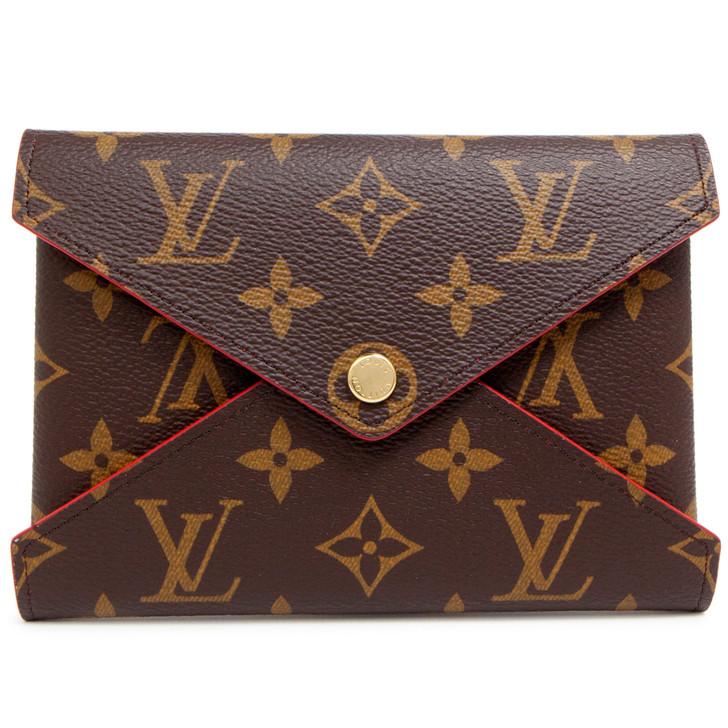 Louis Vuitton Monogram Coquelicot Medium Kirigami Pochette
