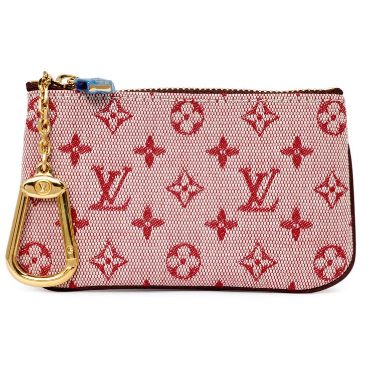 Louis Vuitton Cerise Mini Lin Key Pouch
