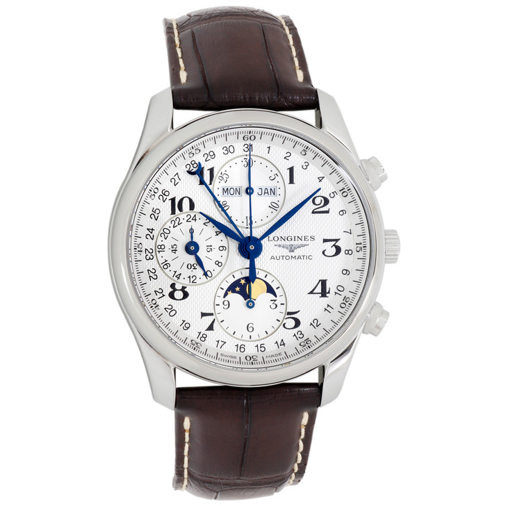 Longines Stainless Steel Master Collection Chronograph  L2.673.4.78.3