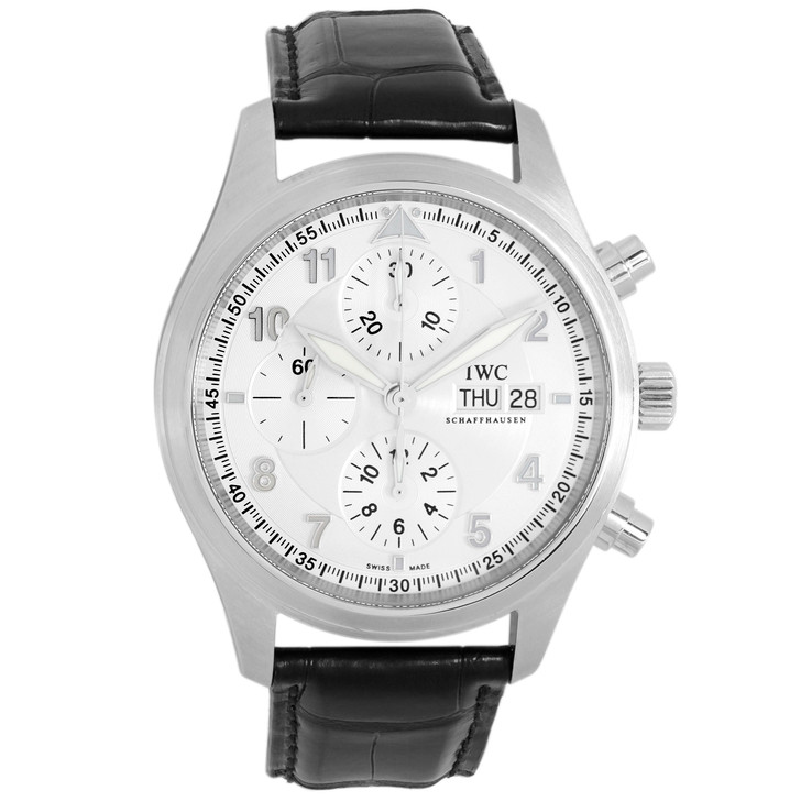 IWC Stainless Steel Spitfire Chronograph IW371702