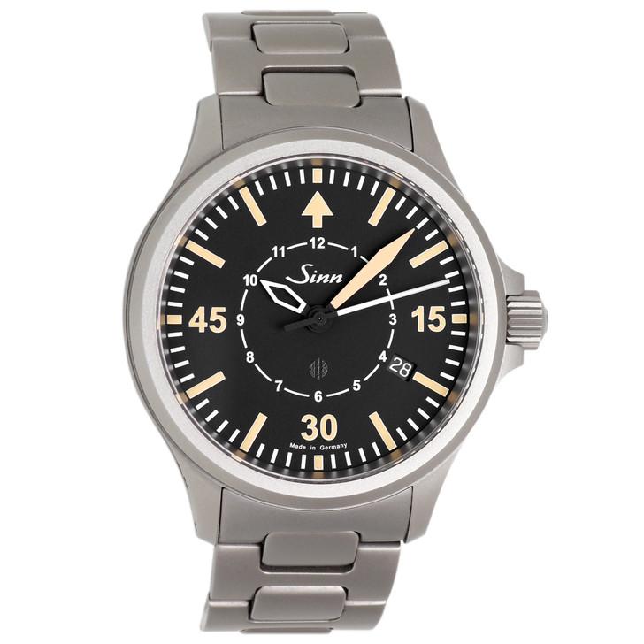 Sinn Stainless Steel B-Uhr Automatic Pilot Watch
