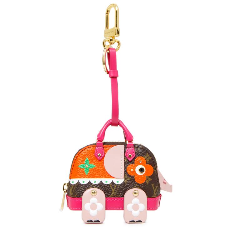 Louis Vuitton Wild Puppet Alma Elephant Bag Charm