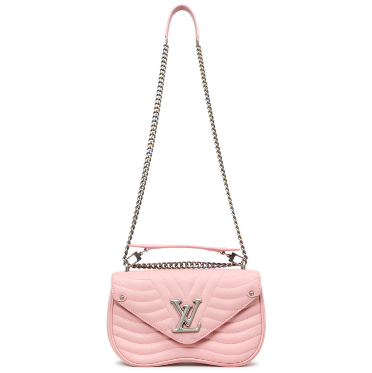 Louis Vuitton Smoothie Pink New Wave Chain Bag MM