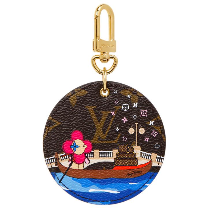 Louis Vuitton Monogram Illustre Vivienne Venice Bag Charm Key Holder