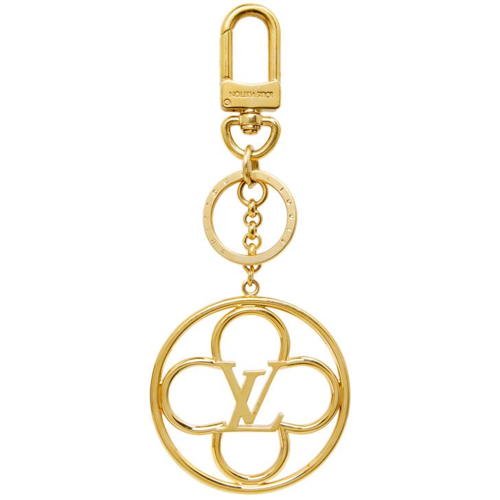 Louis Vuitton Flower Finesse Bag Charm Key Holder