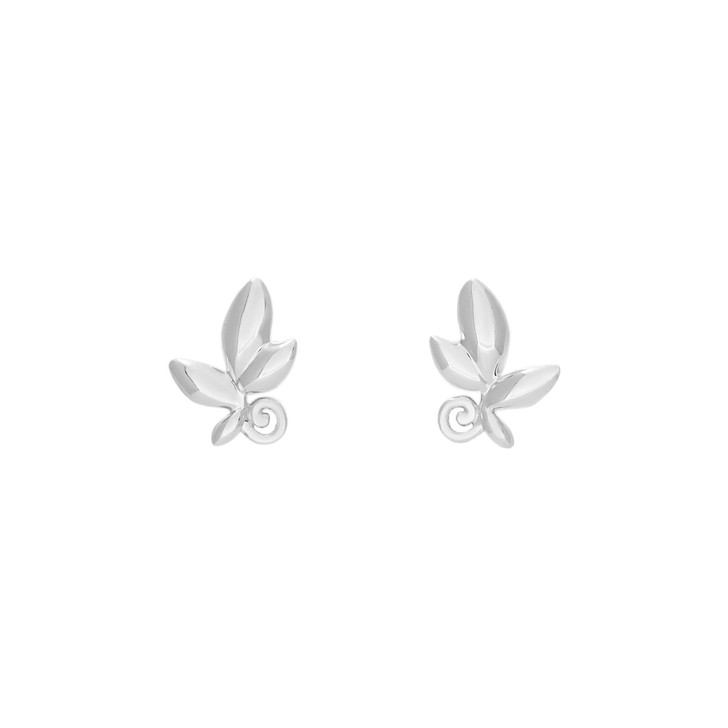 Tiffany & Co. Sterling Silver Paloma Picasso Olive Leaf Earrings