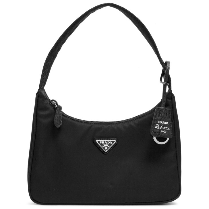 Prada Black Nylon Re-Edition 2000 Mini  Bag