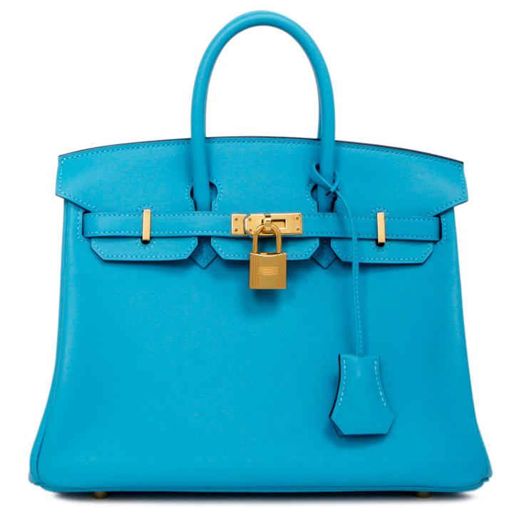 Hermes Bleu du Nord Swift Birkin 25