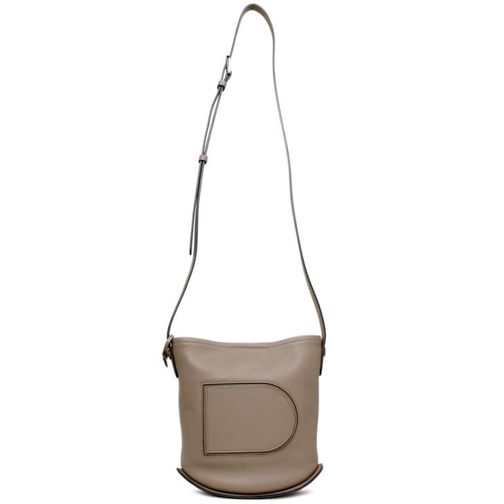 Delvaux Tourterelle Pin Mini Shoulder Bag