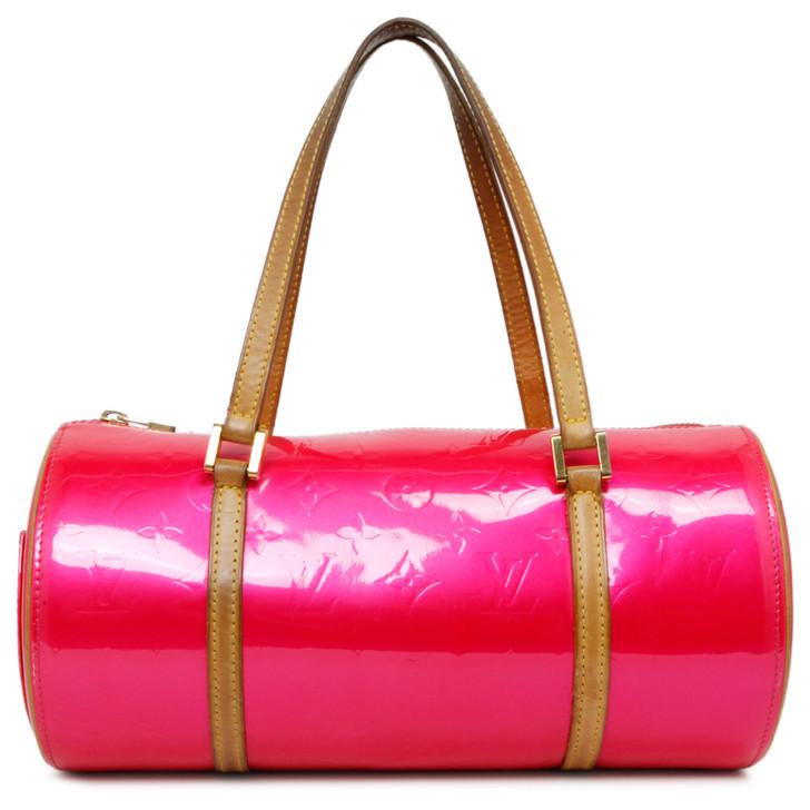 Louis Vuitton Fuchsia Vernis Bedford Bag