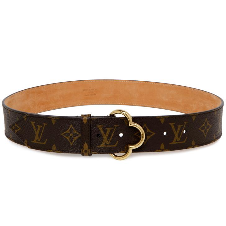 Louis Vuitton Monogram Fleur 40mm Belt
