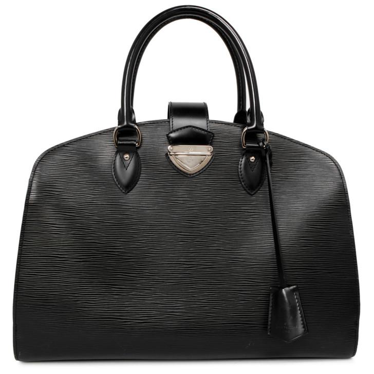 Louis Vuitton Black Epi  Pont-Neuf GM