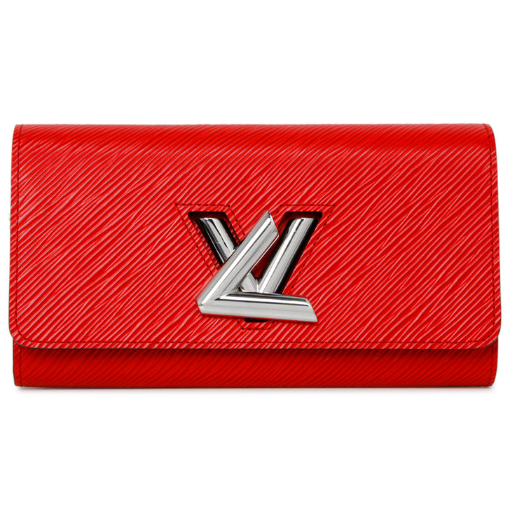 Louis Vuitton Coquelicot Epi Twist Wallet