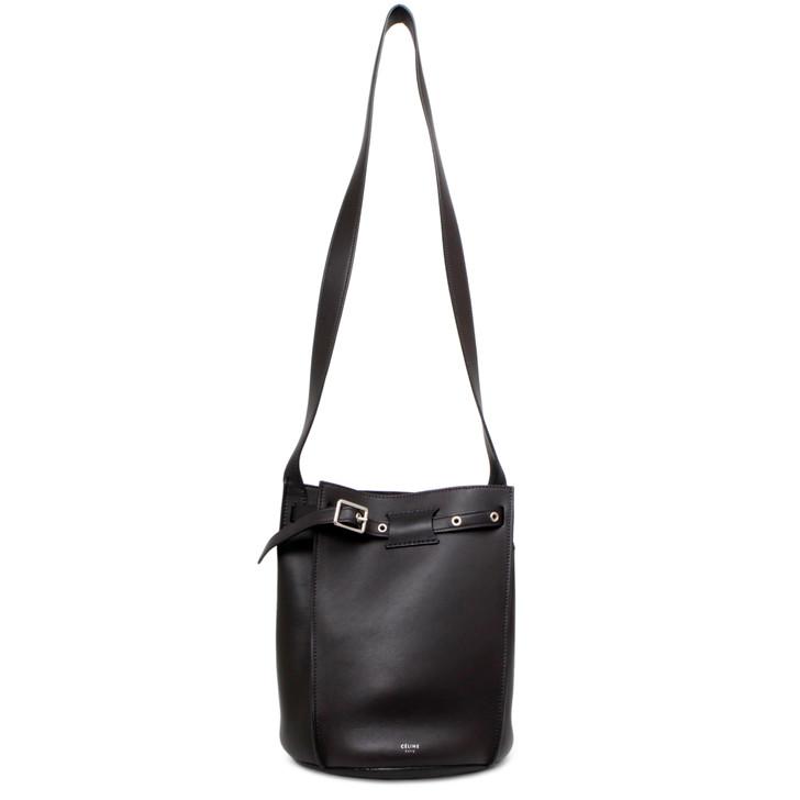 Celine Brown Smooth Calfskin Big Bag Bucket