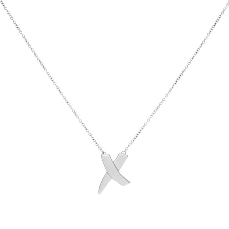 Tiffany & Co. Sterling Silver Graffiti X Pendant