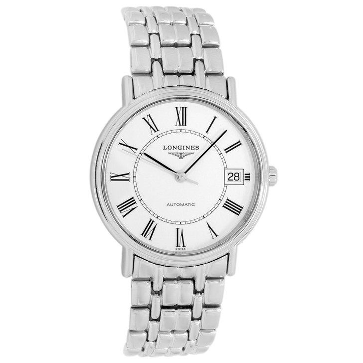 Longines Stainless Steel Presence Automatic L4.721.4