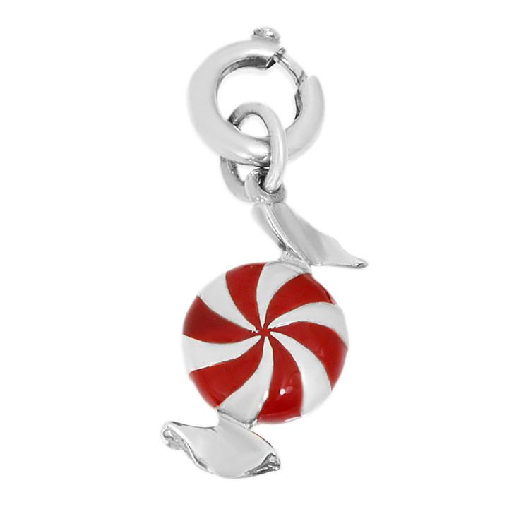 Tiffany & Co. Sterling Silver Enamel Candy Charm