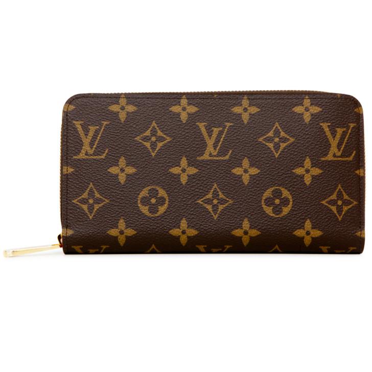 Louis Vuitton Monogram Coquelicot Zippy Wallet