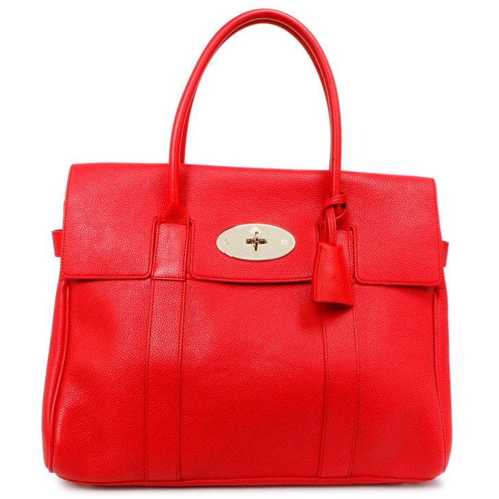 Mulberry Red Classic Grain Bayswater