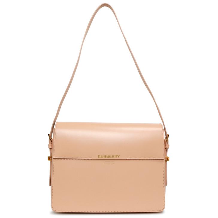 Burberry Soft Blush Calfskin Large Grace Bag