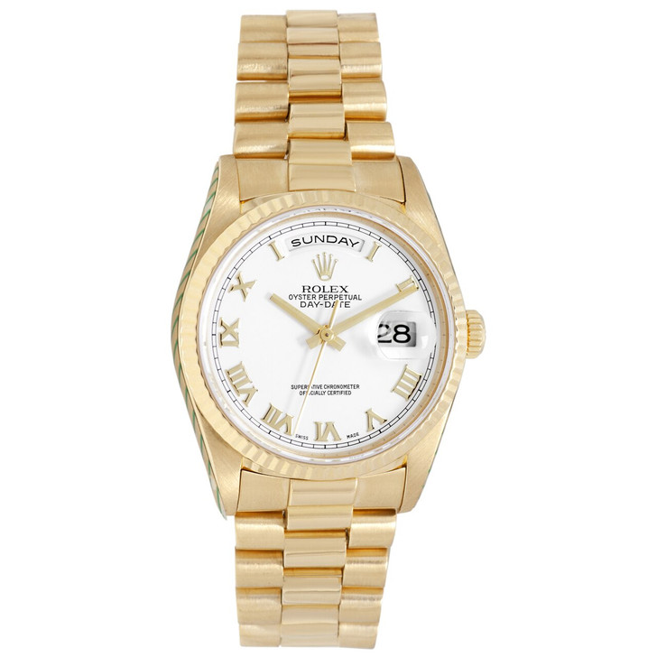 Rolex 18K Yellow Gold Day-Date President  18238