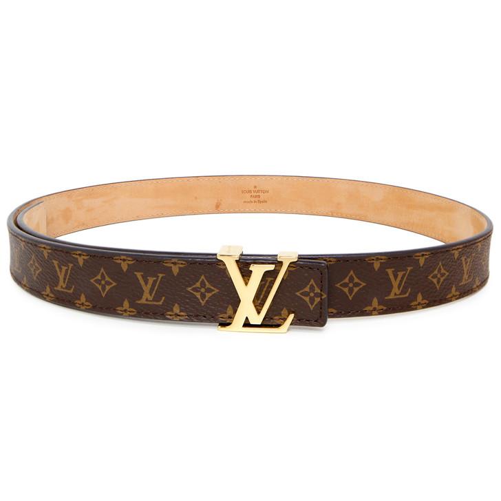 Louis Vuitton Mini Monogram Initiales Belt 25mm